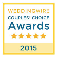 AMS Entertainment received the Wedding Wire Couples Choice Award