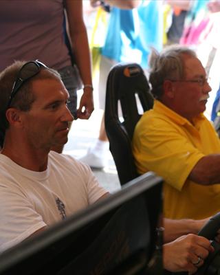 Race Car Simulator Drivers