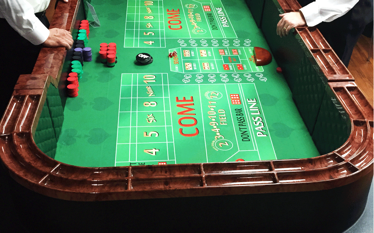 Indianapolis Casino Parties - Craps
