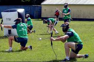 Archery Tag players