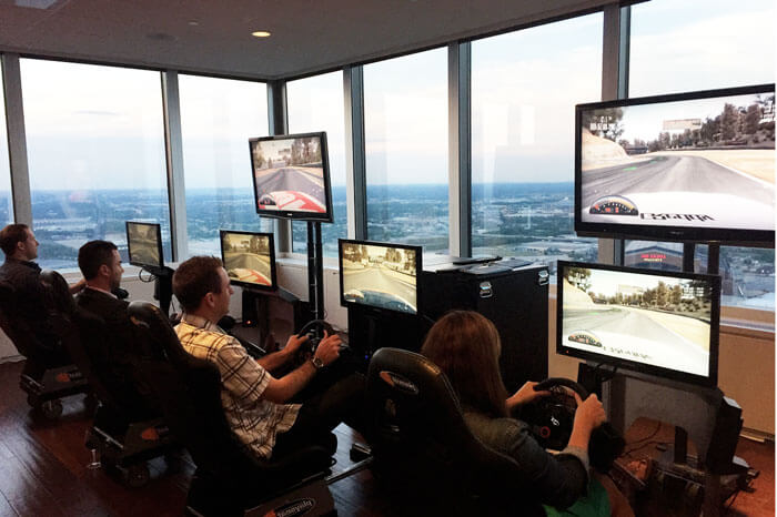 Racing To Go simulators